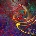 Cosmic Kiss by Cedric Hampton
