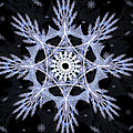 Cosmic Snowflakes by Shawn Dall