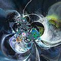 Cosmic Spider by Miki De Goodaboom