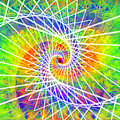 Cosmic Spiral Ascension 03 by Derek Gedney