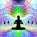 Cosmic Spiral Ascension 11 by Derek Gedney