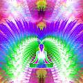 Cosmic Spiral Ascension 13 by Derek Gedney