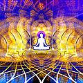 Cosmic Spiral Ascension 18 by Derek Gedney