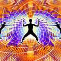 Cosmic Spiral Ascension 19 by Derek Gedney