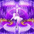 Cosmic Spiral Ascension 27 by Derek Gedney