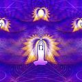 Cosmic Spiral Ascension 31 by Derek Gedney