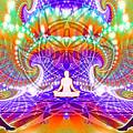 Cosmic Spiral Ascension 60 by Derek Gedney