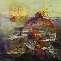 Cosmic Storm by Ilona Petzer