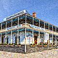 Cosmopolitan Hotel Old Town San Diego Usa by Liz Leyden