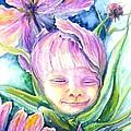 Cosmos Bud by Ashley Kujan