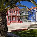 Costa Nova Portugal by Jim  Wallace
