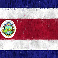 Costa Rica Flag by World Art Prints And Designs