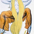 Costume Design For A Bacchic Dancer by Leon Bakst