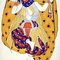 Costume Design For A Dancer by Leon Bakst