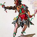 Costume Design For A Fury by French School