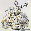 Costume Design For Ceres, Facsimile by French School