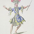 Costume Design For The Magician by French School