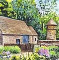 Cotswold Barn by Carol Wisniewski