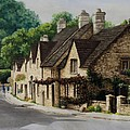 Cotswold Street by Mary Palmer