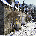 Cotswolds Cottages In Winter  by Paul Felix