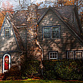 Cottage - Cranford Nj - Autumn Cottage  by Mike Savad
