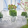 Cottage Garden by Elvira Ingram