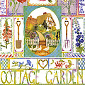 Cottage Garden by Julia Rowntree