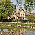 Cottage In The Hameau De La Reine by Jennifer Ancker
