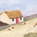 Cottage In The West by Tis Art