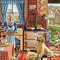 Cottage Interior by Steve Crisp