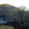 Cottage On Hillside by Phil Darby