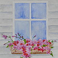 Cottage Window by Sally Rice
