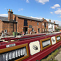 Cottages At Fradley Junction by Neil Finnemore