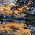 Cotton Bayou Sunrise by Michael Thomas