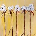 Cotton Chorus Line by Eloise Schneider Mote