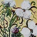 Cotton Triptych by Eloise Schneider