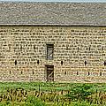 Council Grove Kansas Stone Barn by Alan Hutchins