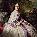 Countess Alexander Nikolaevitch Lamsdorff. Maria Ivanovna Beck by Franz Xaver Winterhalter