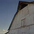 Country Barn And Mt Ashland by Mick Anderson