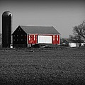 Country Barn by Robert Geary