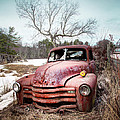 Country Chevrolet - Old Rusty Abandoned Truck by Gary Heller