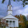 Country Church by Barbara McDevitt