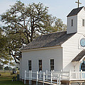 Round Top Texas Country Church by JG Thompson