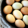 Country Egg Skillet by Cricket Hackmann