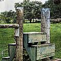 Country Farm Fence Stile Crossing by Ella Kaye Dickey