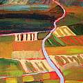 Country Fields by Nancy Merkle