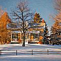 Country Home Oil by Steve Harrington