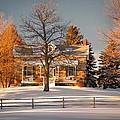 Country Home by Steve Harrington
