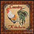 Country Kitchen Rooster by Jean Plout