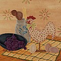 Country Kitchen by Tracy Campbell